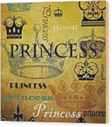 Princess 1 Wood Print
