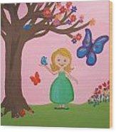 Princess Amma Belle Wood Print