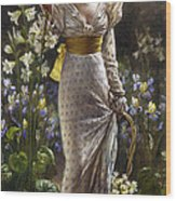 Princess Elvina Of Bavaria Wood Print
