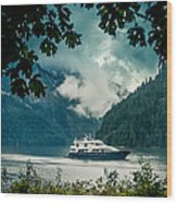 Princess Louisa Inlet Wood Print