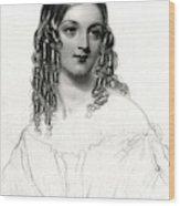 Princess Sarah Frederica Caroline Wood Print