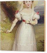 Princess Victoria Wood Print by Stephen Smith