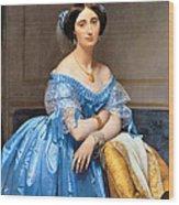 Princesse Albert De Broglie Nee Josephine Eleonare Marie Pauline De Galard De Brassac De Bearn Wood Print