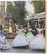 Princesses Wood Print by Malania Hammer