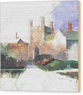 Princeton Blair Hall Wood Print