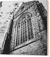 Princeton University Chapel Wood Print