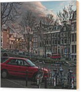 Prinsengracht 791. Amsterdam. Wood Print