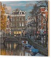 Prinsengracht 807. Amsterdam Wood Print