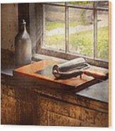 Printer - A Hope And A Brayer Wood Print