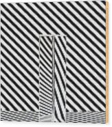 Prism Stripes 1 Wood Print