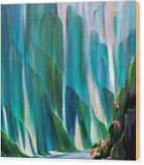 Prisms Wood Print