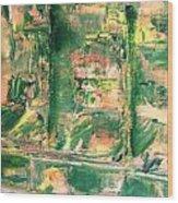 Prison Wood Print