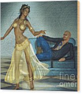 Private Dancer Wood Print