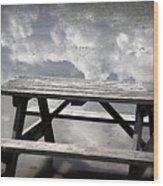 Private Picnic Wood Print