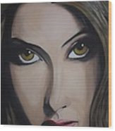 Priyanka Chopra Wood Print
