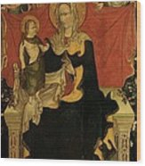 Probably Artista Veneziano, Madonna Wood Print by Everett