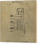 Process Of Extracting Bromine Patent Wood Print