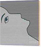 Profile Wood Print