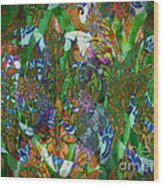 Profusion Of Colors Wood Print