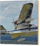 Progressive Aerodyne Searey Wood Print