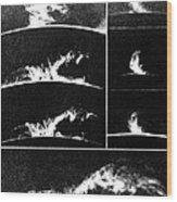 Prominences On The Sun 1937 Wood Print