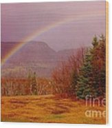 Promise And Hope Cape Breton Wood Print