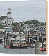 Pronvincetown Harbor Wood Print