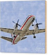 Propelling On In By Diana Sainz Wood Print