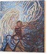Prophetic Storm Of Angels Wood Print