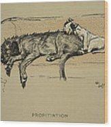 Propitation, 1930, 1st Edition Wood Print