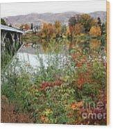 Prosser - Autumn Bridge Wood Print