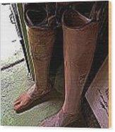 Prosthetics Wood Print
