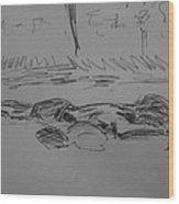 Prostrate Wood Print