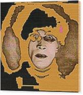 Proto Film Noir Conrad Veidt Cabinet Of Dr. Caligari 1919 Collage Screen Capture 2012 Wood Print
