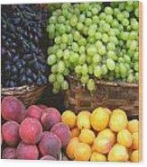 Provencal Fruit Wood Print