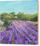 Provence Corner 2 Wood Print