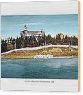 Providence Rhode Island - The Pomham Club - 1906 Wood Print