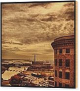 Providence Viewpoint Wood Print