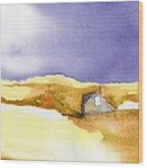 Provincetown Dune Shack Wood Print
