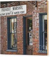 Provost Marshal Wood Print