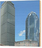 Prudential Building 2960 Wood Print