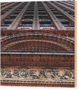 Prudential Building Wood Print