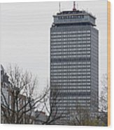 Prudential Tower Wood Print