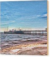 Ps Waverley At Penarth Pier 2 Wood Print