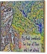 Psalm 119 110 Wood Print