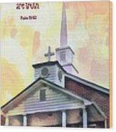 Psalm 119 151 Wood Print