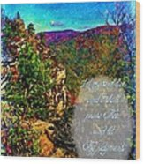 Psalm 119 175 Wood Print