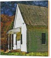 Psalm 119 54 Wood Print