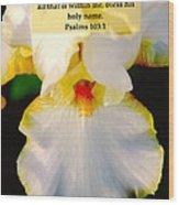 Psalms 113 V 1 Wood Print