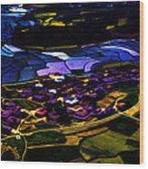 Psychadelic Aerial View Wood Print